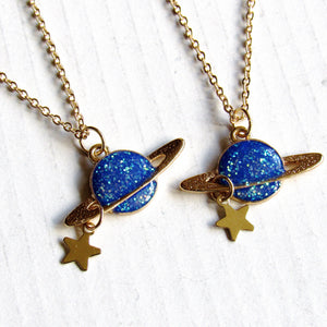 Saturn Necklaces