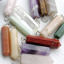 Load image into Gallery viewer, (On Sale!) Calcite Silver Bulb Necklaces
