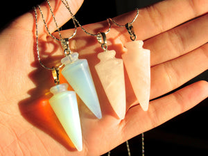 Pastel Pendulum Necklaces (2 choices)