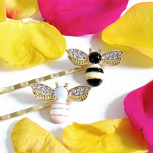 Load image into Gallery viewer, Bee Hair Pin Set (2 piece)