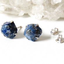 Load image into Gallery viewer, Lapis Lazuli Stud Earrings