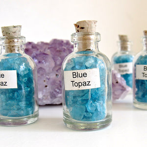(On Sale!) Vial of Blue Topaz