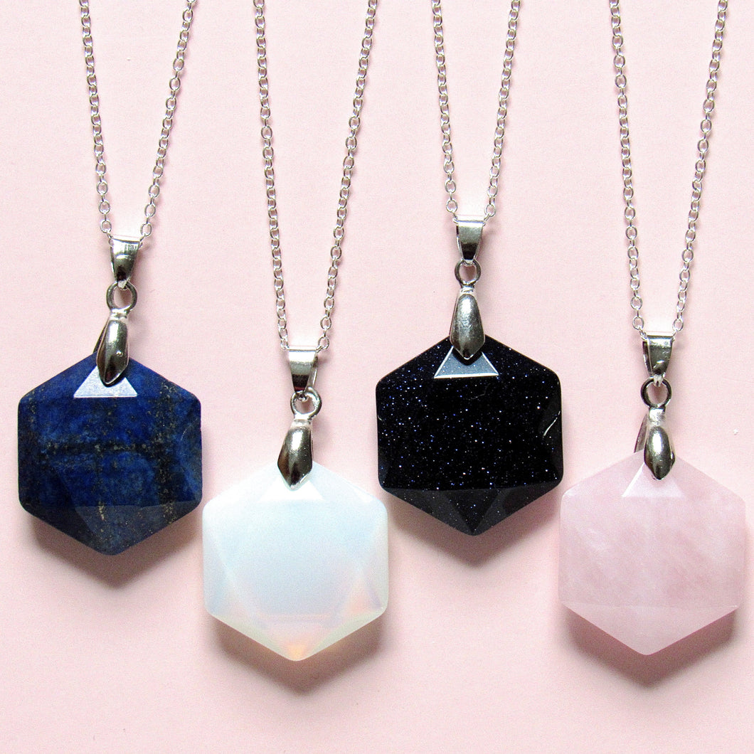 Twinkling Crystal Necklaces (4 Choices)
