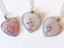 Load image into Gallery viewer, Rose Stem Necklaces