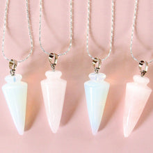Load image into Gallery viewer, Pastel Pendulum Necklaces (2 choices)