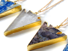 Load image into Gallery viewer, Amethyst Arrowhead Necklaces
