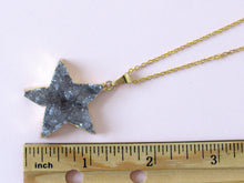 Load image into Gallery viewer, Twinking Star Druzy Necklaces