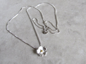 Sterling Silver Blossom Necklaces