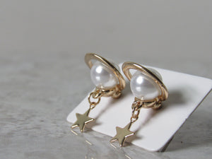 Starry Saturn Earrings (Gold & Silver)