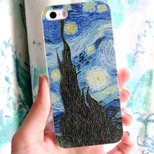 "Load image into Gallery viewer, (On Sale!) Van Gogh ""The Starry Night""  (5/5s, 6/6s)"