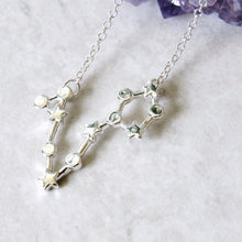 Load image into Gallery viewer, Pisces Constellation Necklace