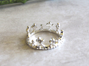 Silver Queen Rings