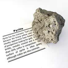 Load image into Gallery viewer, Gift Boxed Pyrite Cluster