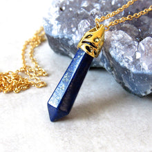 Load image into Gallery viewer, Lapis Lazuli Stone Necklaces
