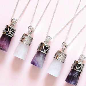 Crystal Card Necklaces  ♣ ♦ ♥ ♠