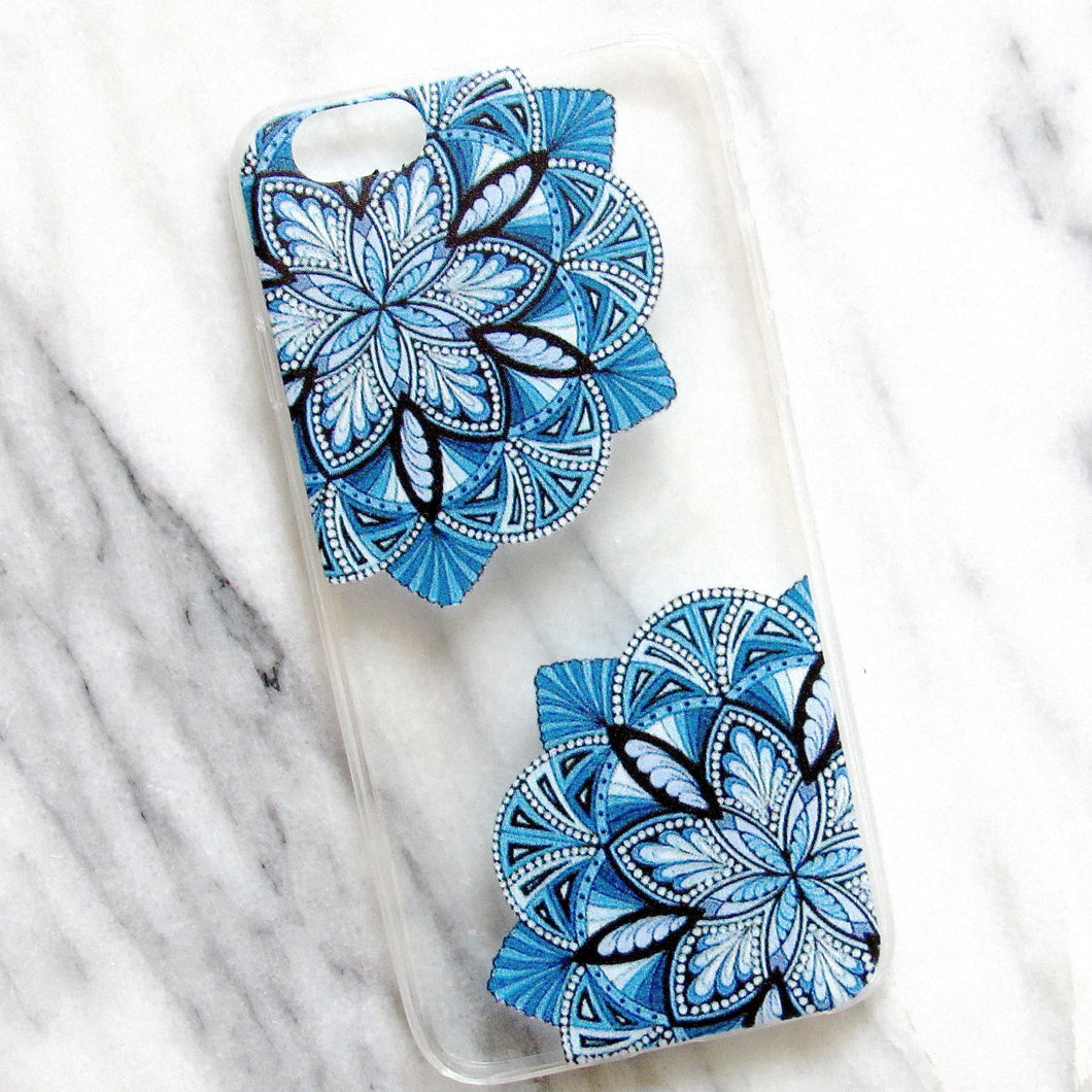 (New!) Floral Mandala Cases (iPhone 6/6s)
