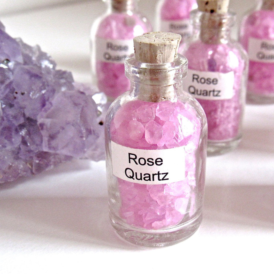 (On Sale!) Vial of Rose Quartz