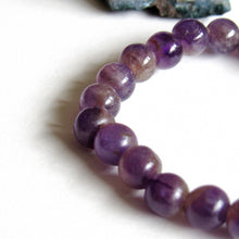 Load image into Gallery viewer, Amethyst Beaded Stone Bracelets