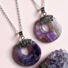 Load image into Gallery viewer, Supernova Amethyst Necklaces