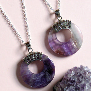 Supernova Amethyst Necklaces