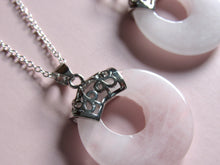 Load image into Gallery viewer, Supernova Rose Quartz Necklaces