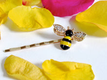 Load image into Gallery viewer, Bee Hair Pins