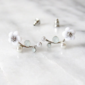 Floral Stem Earrings
