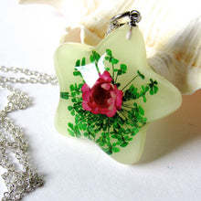 Load image into Gallery viewer, (On Sale) Lotus Garden Real Flower Necklaces