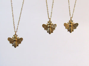 Golden Bee Necklaces