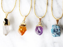 Load image into Gallery viewer, Citrine Point Chokers