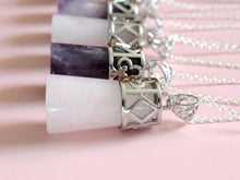 Load image into Gallery viewer, Crystal Card Necklaces  ♣ ♦ ♥ ♠