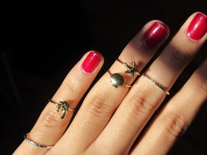 Tropical Sands Midi Ring Set (3pc)