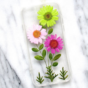 Summertime Blooms Real Flower Case (iPhone 6/6s)