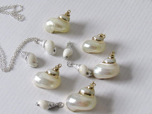 Snail Shell Necklaces