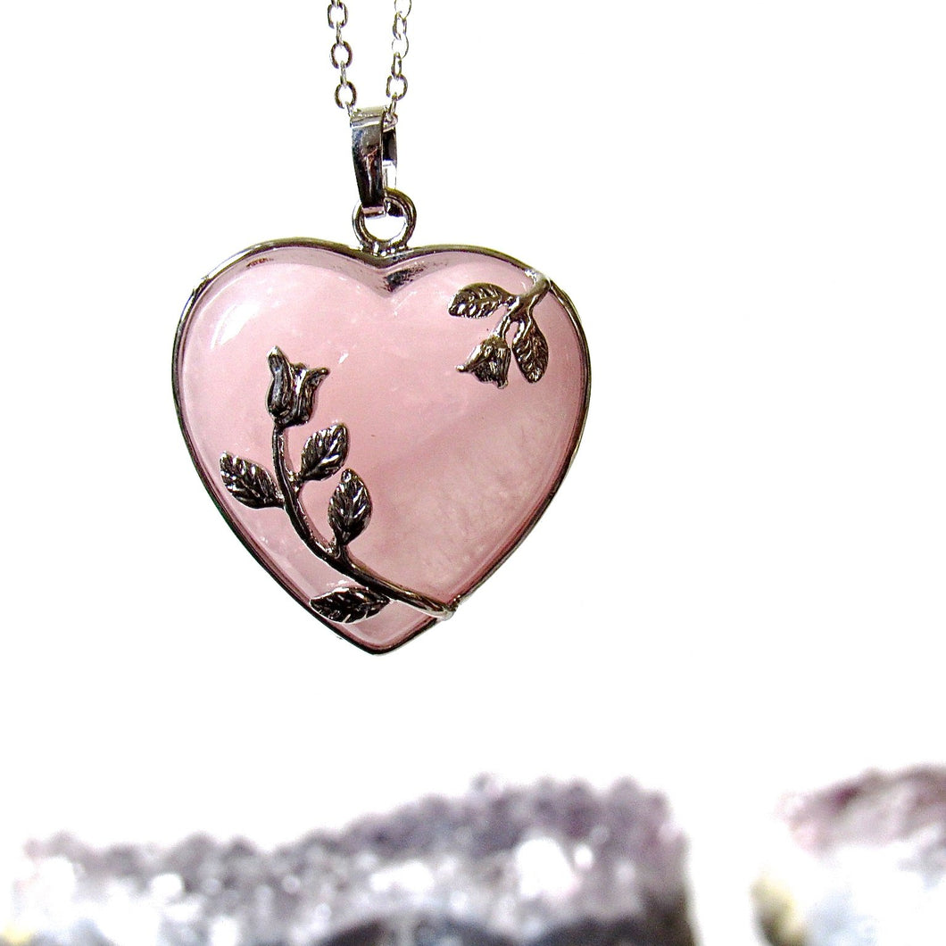 Rose Stem Necklaces