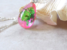 Load image into Gallery viewer, (On Sale!) Pretty in Pink Real Flower Necklaces