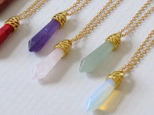 Load image into Gallery viewer, Opalite Stone Necklaces