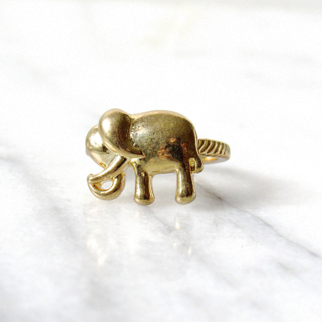 Golden Elephant Rings