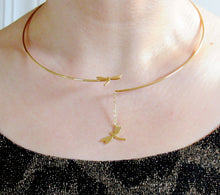 Load image into Gallery viewer, Wrapped Dragonfly Collar Chokers