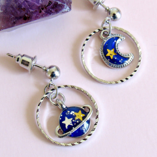 Celestial Drop Earrings