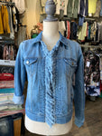 Liverpool frayed jean jacket