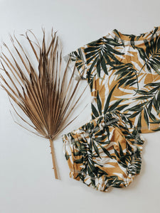"""Mustard"" Tropical Vibes Set"