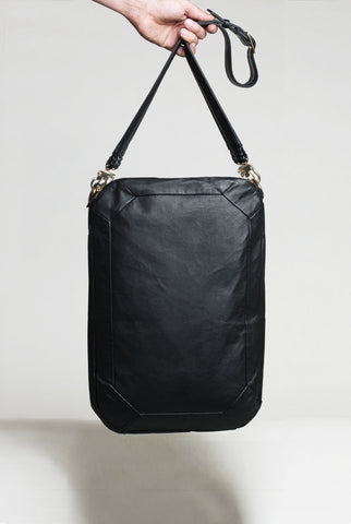 Black Square Diamond - Shoulder Bag