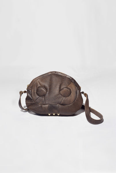 Wooden Mini Mask - Shoulder bag  £299      *NEW
