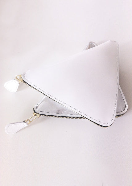 White Yuli - Mini Clutch  £299