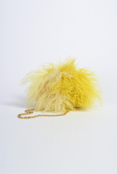 MADE TO ORDER Tramp -  Fur Shoulder bag  £1299