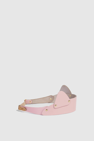 Pink Cat Ear Leather band  £169