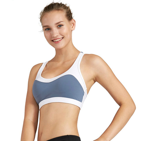 Sports Bra w/ Mesh Back & No Steel Ring
