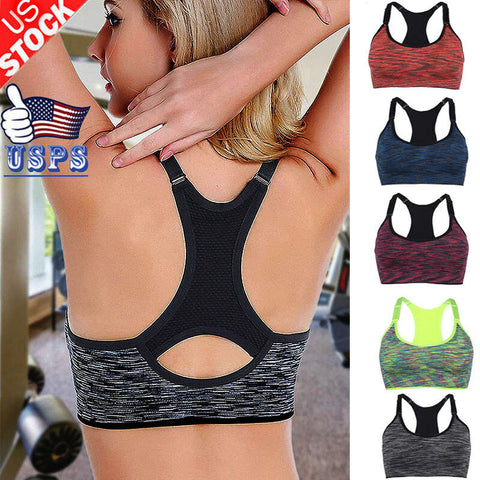 Multi-Color, Padded, Bounce Control Sports Bra