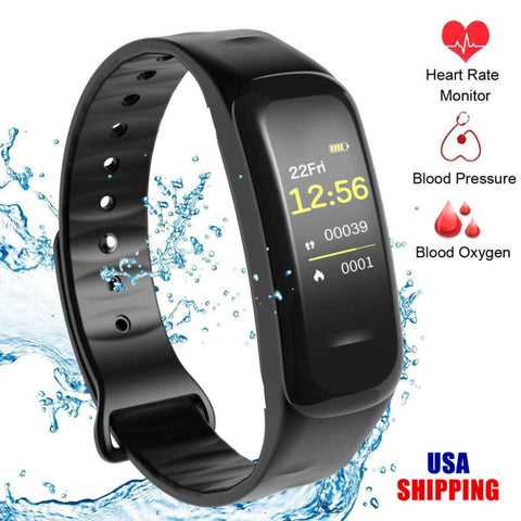 Black BP & Oxygen Monitor